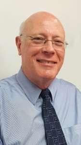 Photograph portrait of Dr. John Dame