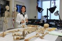 Dr. Nanny Wenzlow in Pound Lab