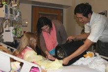 Cat's meow: Wish comes true for young cardiac patient